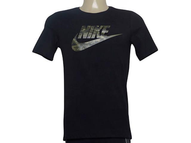 Camiseta Masculina Nike Aj6633-011 Sportswear Preto