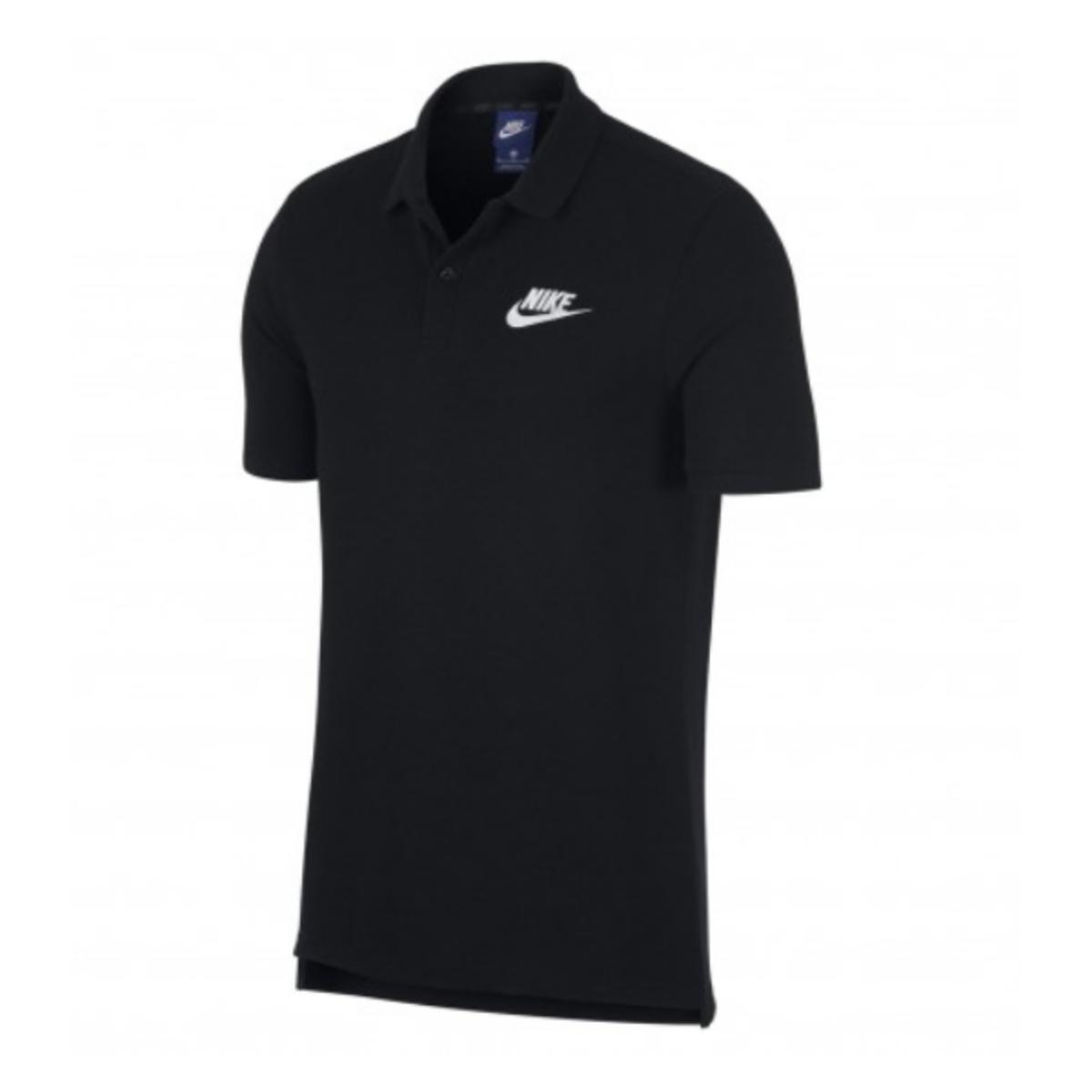 Camiseta Masculina Nike 909746-010 Sportswear Polo Preto
