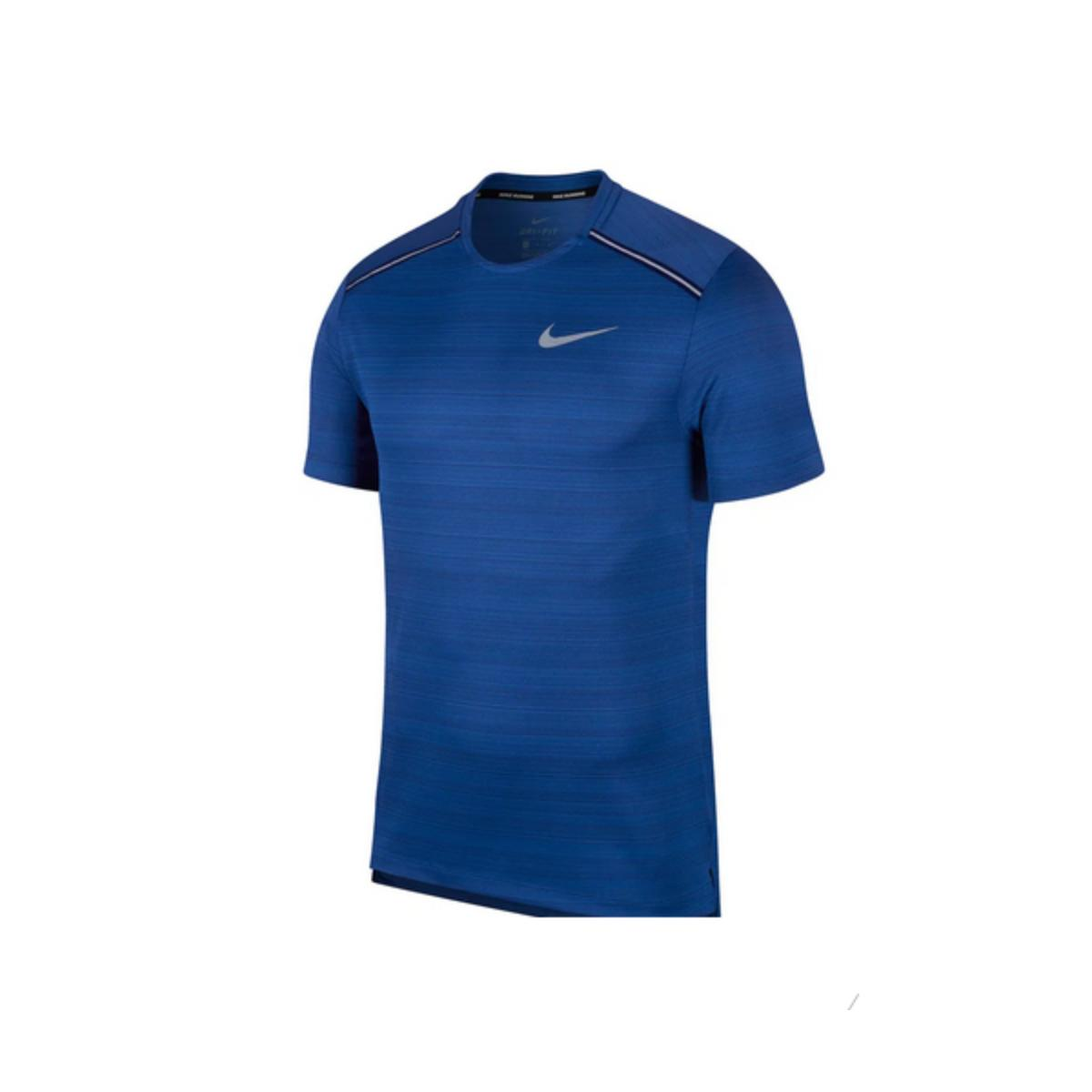 Camiseta Masculina Nike Aj7565-438 Dri-fit Miler Royal