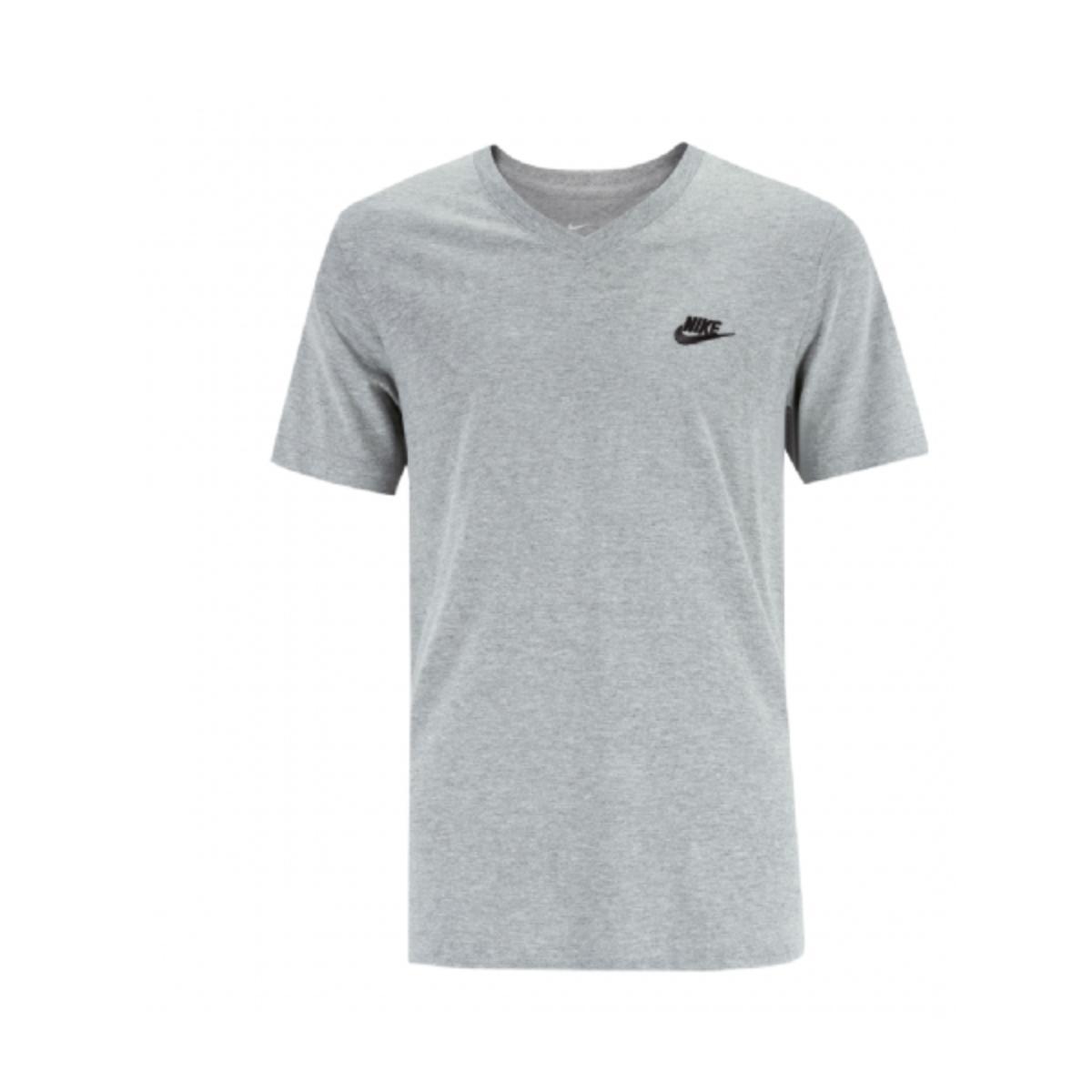 Camiseta Masculina Nike Ar5203-063 Sportswear Cinza