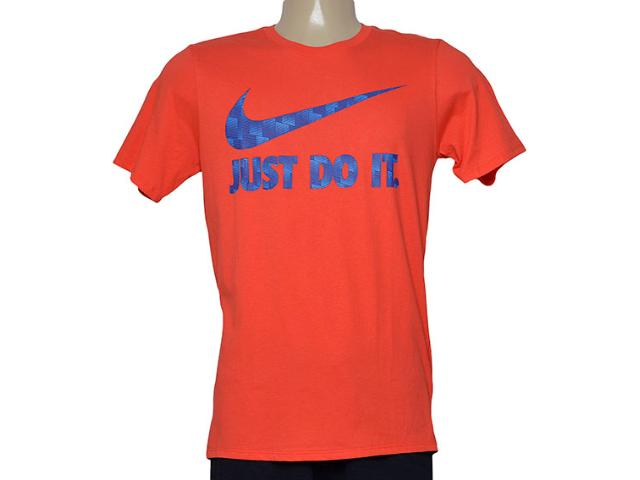 Camiseta Masculina Nike 779708-696 Tee-ultra Jdi  Laranja