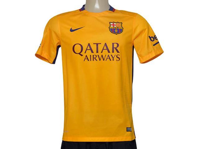 Camiseta Masculina Nike 658785-740 Fcb Away Torcedor  Amarelo