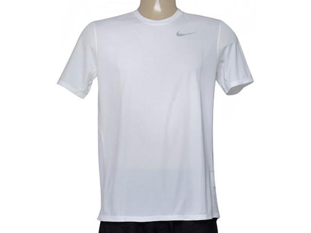 Camiseta Masculina Nike 667672-100 Racer ss  Branco