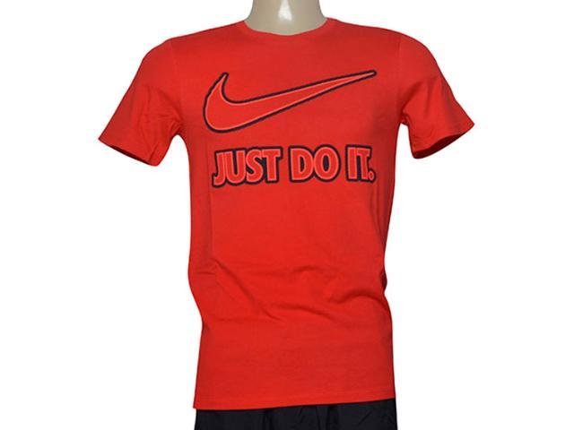 Camiseta Masculina Nike 804978-657 Tee-embrd Jdi  Vermelho