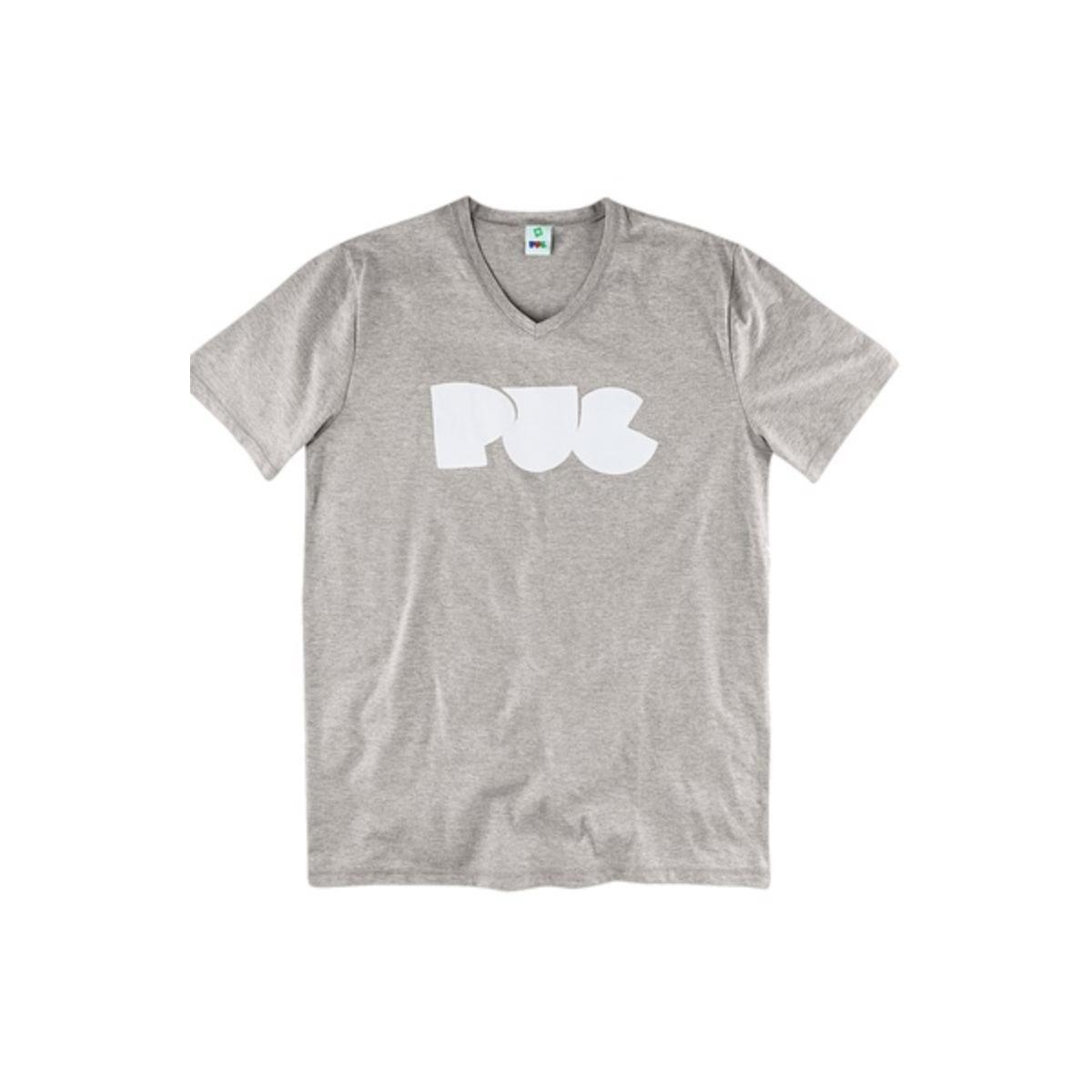Camiseta Masculina Puc 2h3v M2h10 Mescla
