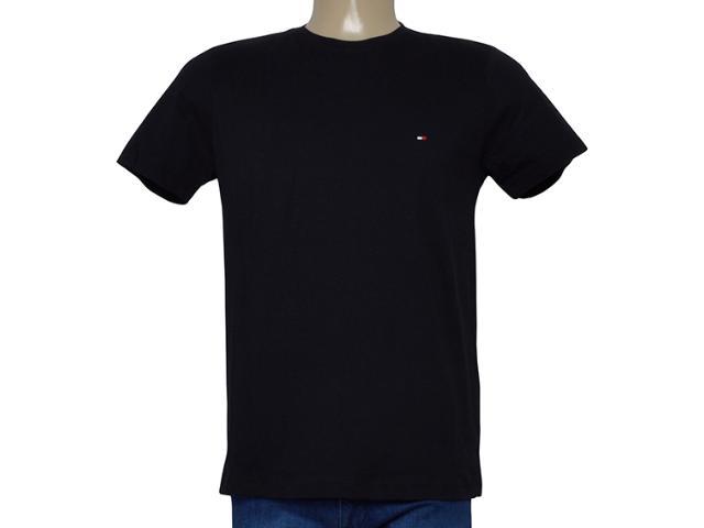 Camiseta Masculina Tommy Thmw0mw04985 Preto