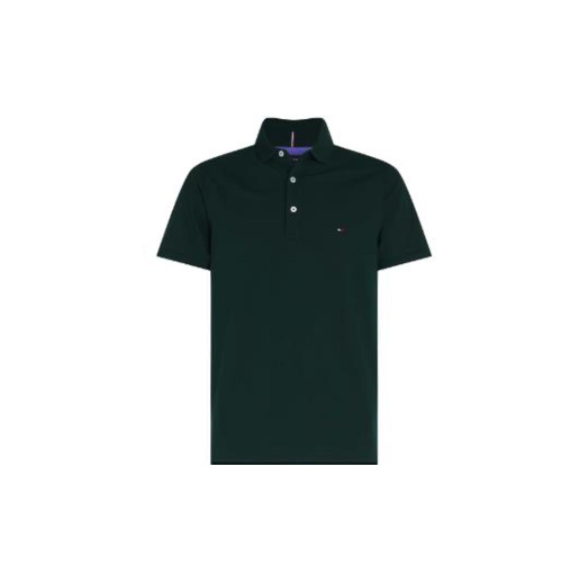 Camiseta Masculina Tommy Thmw0mw10765 Thmbp Verde