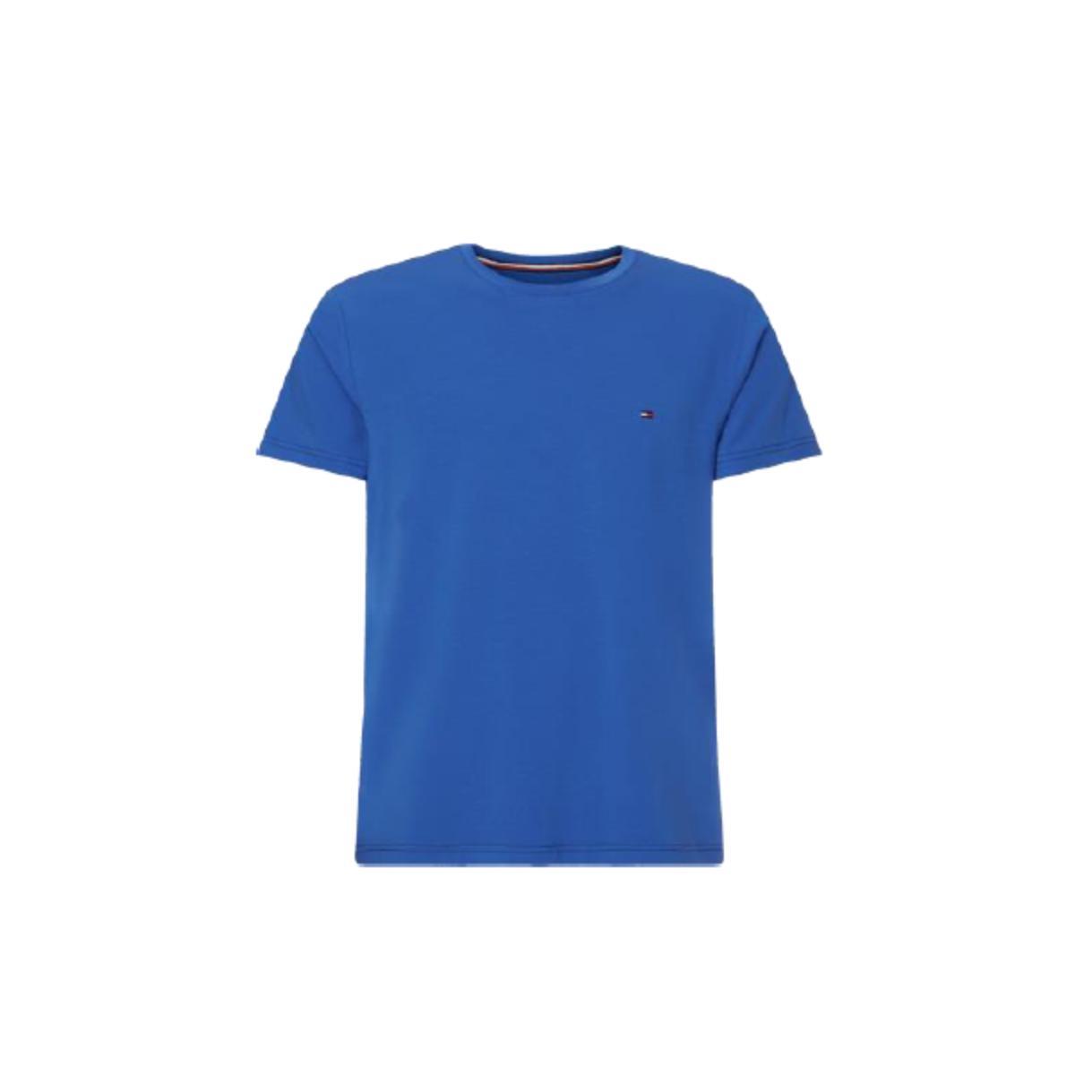 Camiseta Masculina Tommy Thmw0mw17002 Thc46 Azul