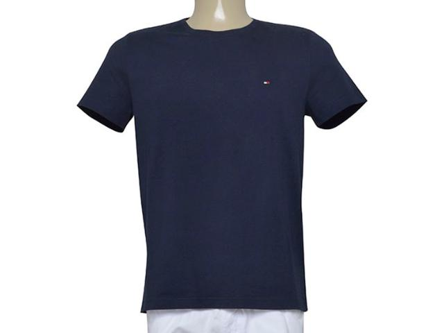 Camiseta Masculina Tommy Th0887883035 Marinho