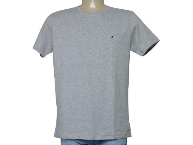 Camiseta Masculina Tommy Thmw0mw01073 Mescla