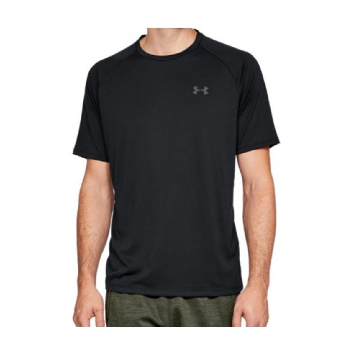 Camiseta Masculina Under Armour 1359378  Tech 2.0 Preto