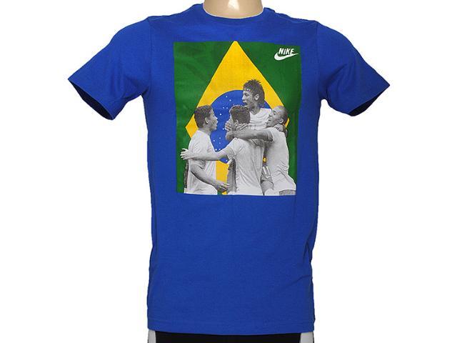 Camiseta Masculina Nike 588307-493 Southern Fan Army Tee Azul