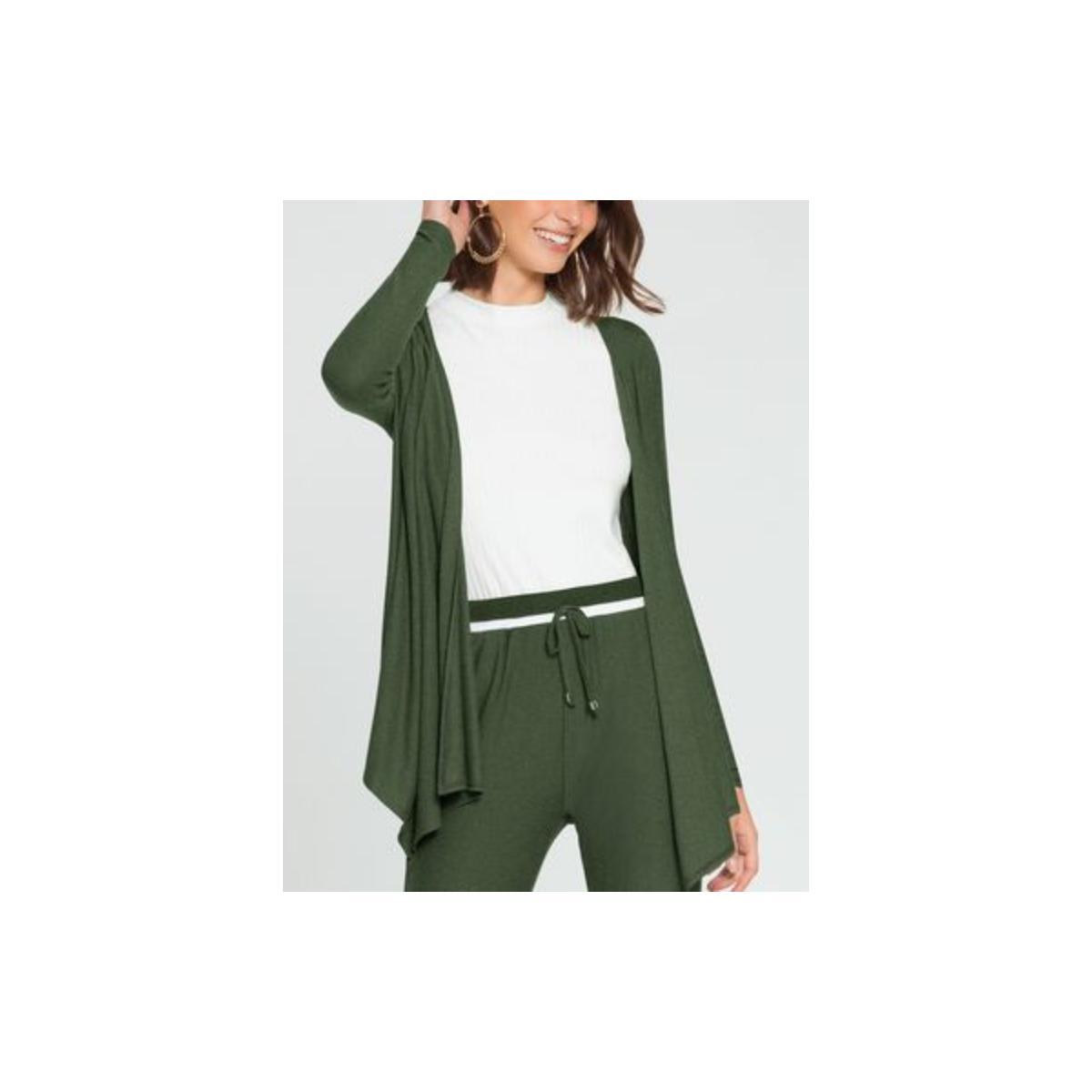 Cardigan Feminino Lunender 60129 Verde