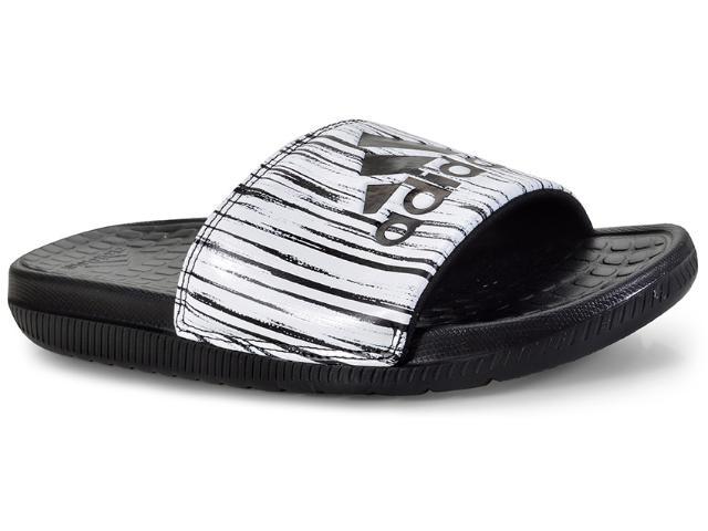 Chinelo Masculino Adidas Cp9450 Voloomix gr Preto/branco