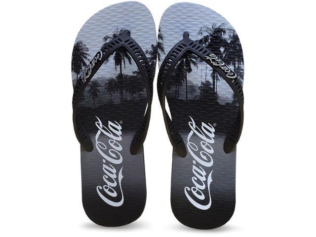 Chinelo Masculino Coca-cola Shoes Cc2049 Preto