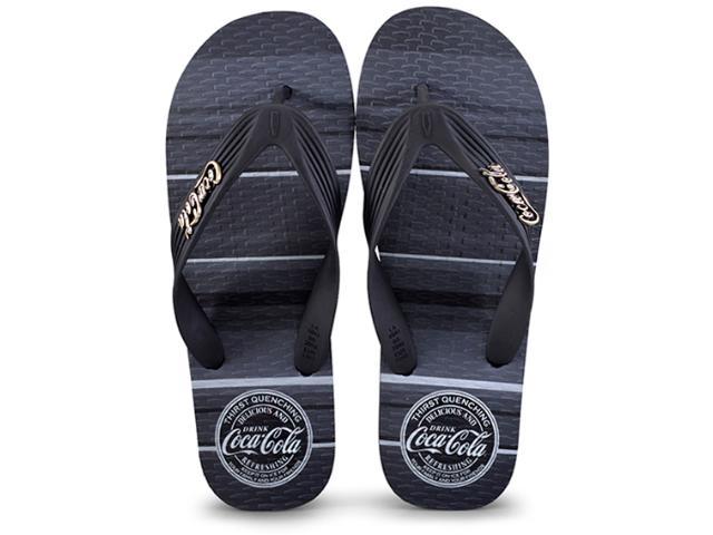 Chinelo Masculino Coca-cola Shoes Cc2389 Preto