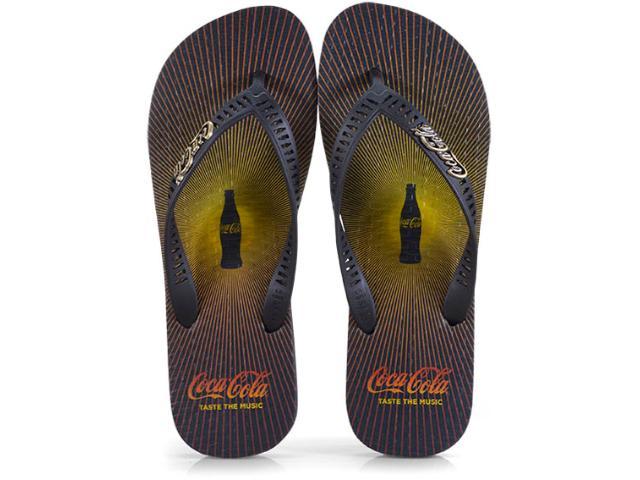 Chinelo Masculino Coca-cola Shoes Cc2477 Preto