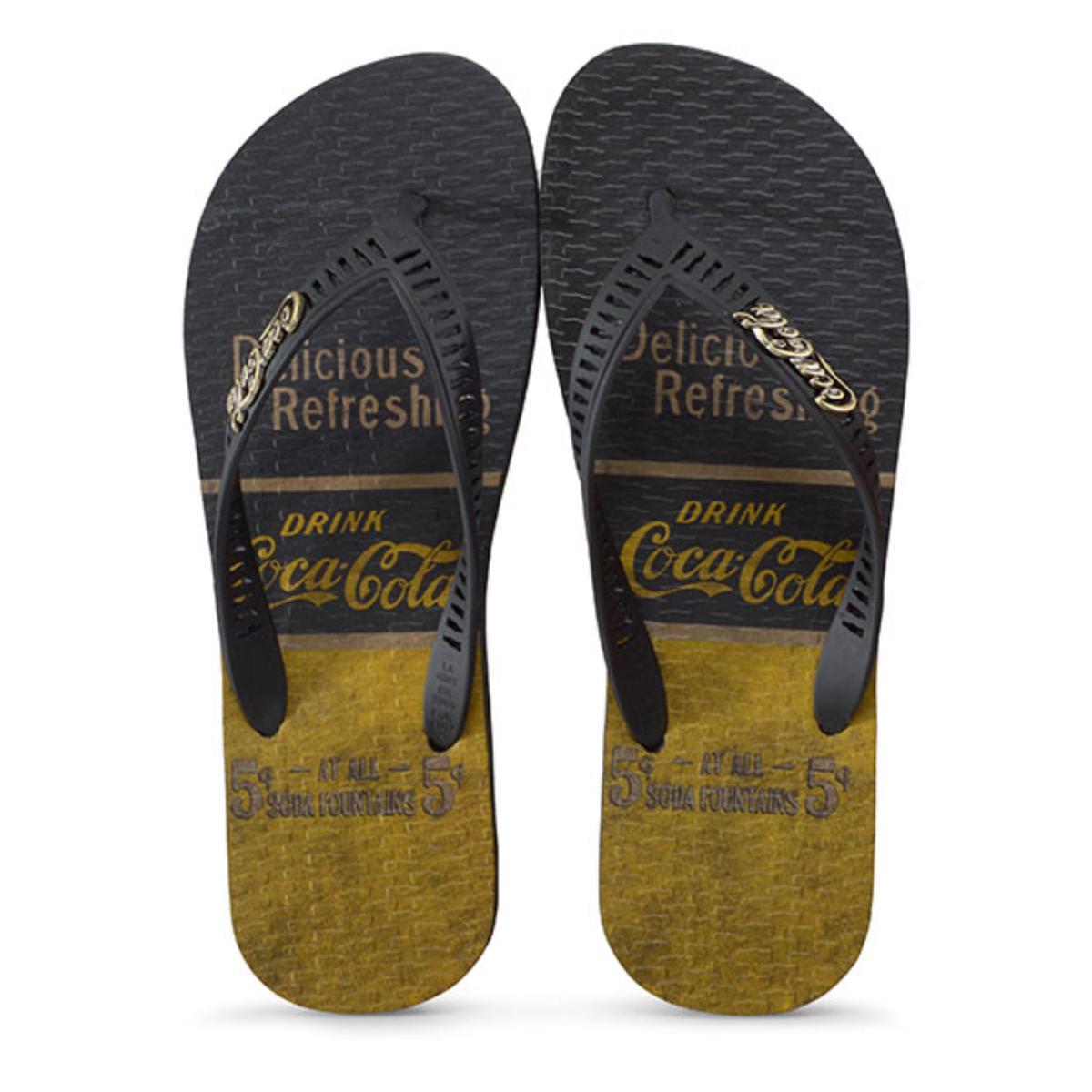 Chinelo Masculino Coca-cola Shoes Cc2644 Preto