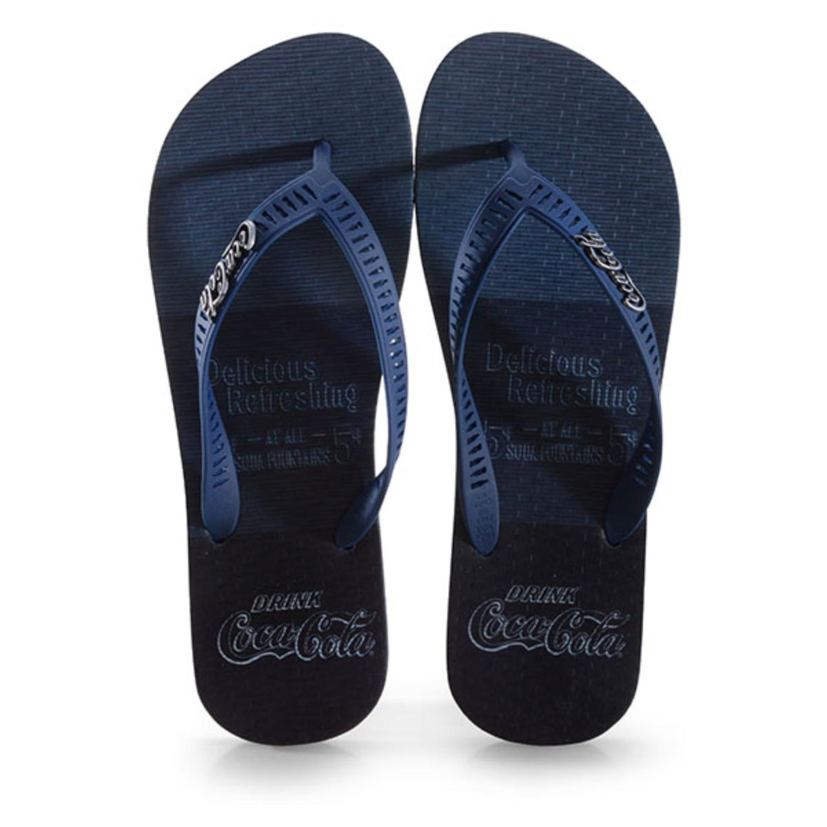 Chinelo Masculino Coca-cola Shoes Cc2914 Marinho