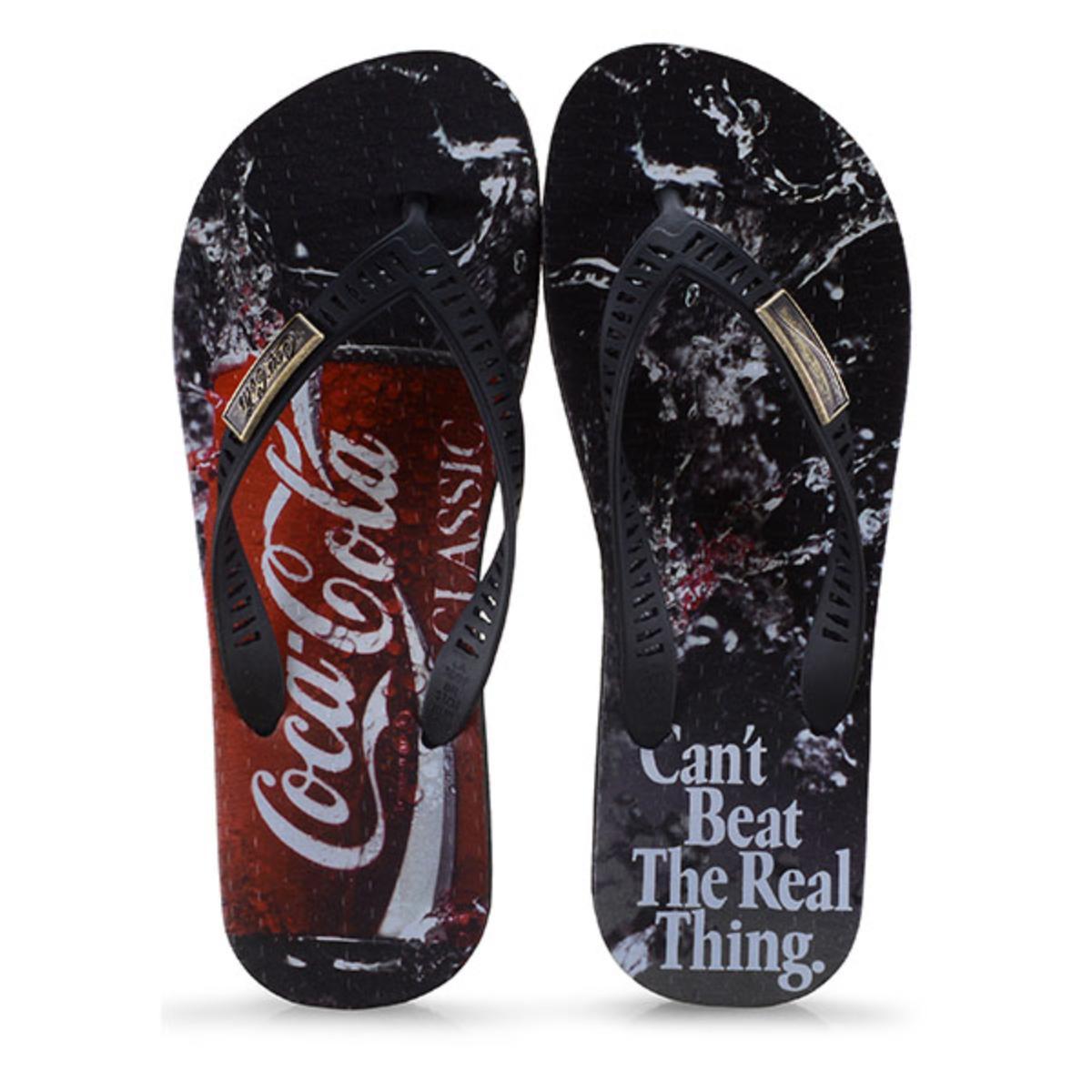 Chinelo Masculino Coca-cola Shoes Cc2647 Preto