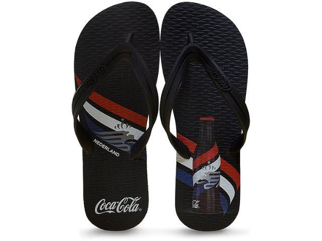 Chinelo Masculino Coca-cola Shoes Cc2217 Preto