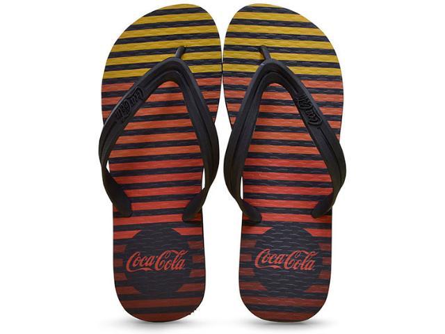 Chinelo Masculino Coca-cola Shoes Ccl2237 Preto