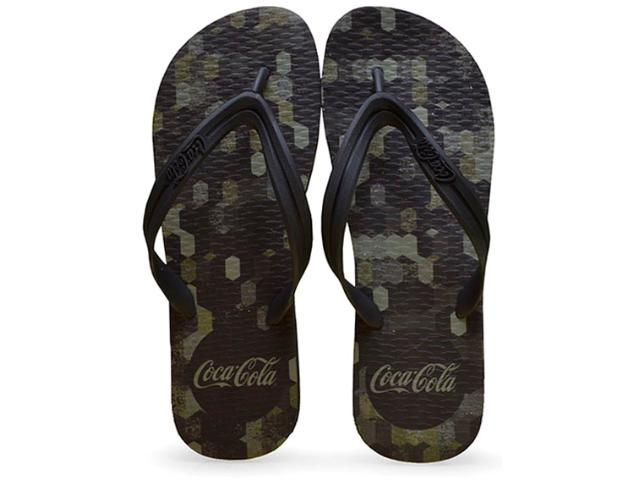 Chinelo Masculino Coca-cola Shoes Ccl2232 Preto