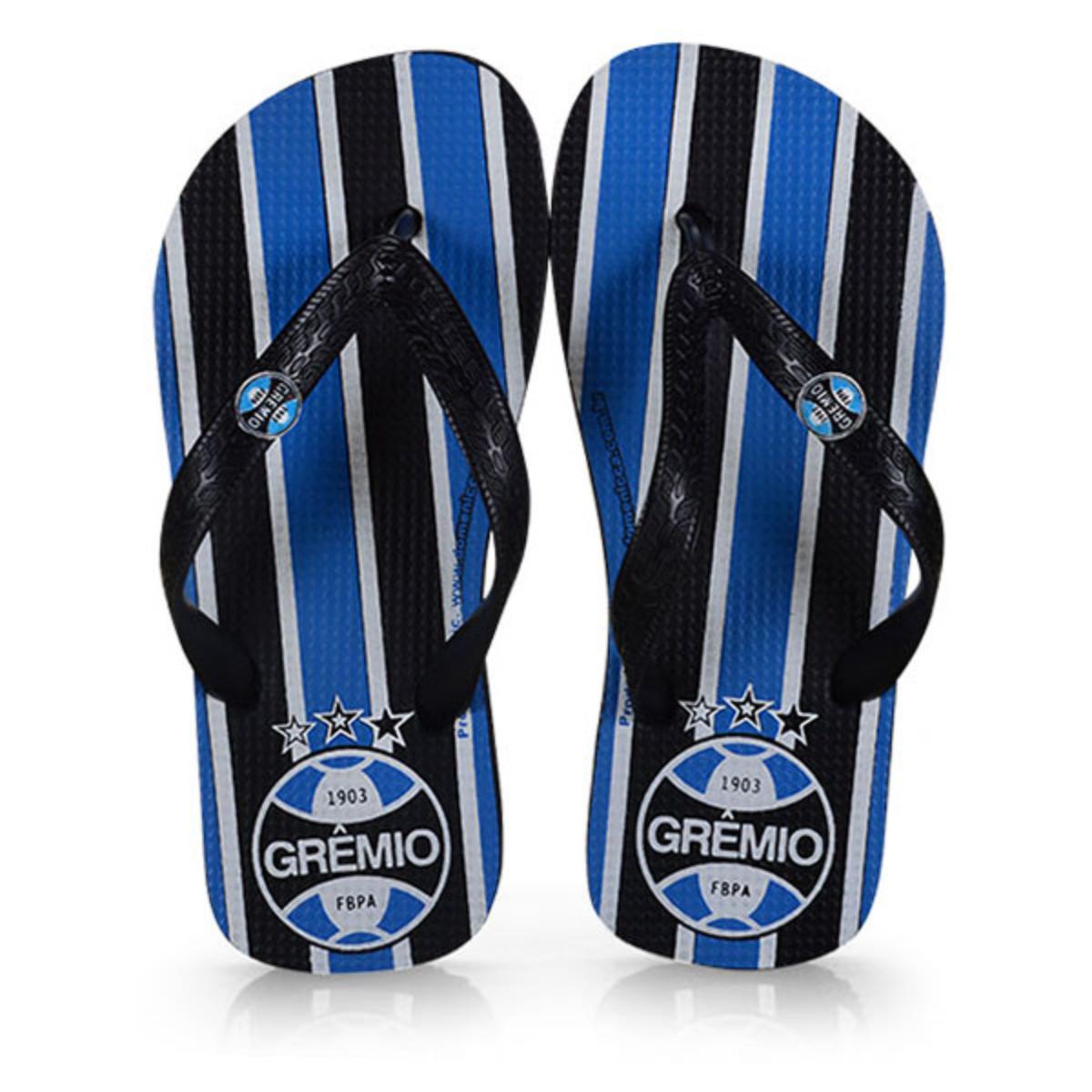 Chinelo Uni Infantil Dilva Oldoni 120258 Grêmio Preto/azul