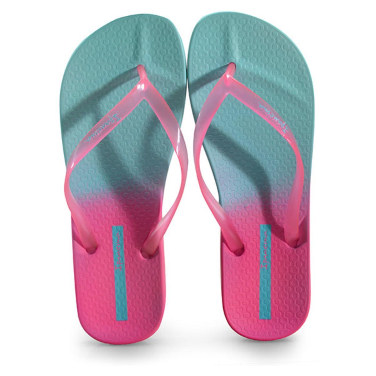 Chinelo Feminino Grendene 26525 25499 Ipanema Colors  Azul/rosa