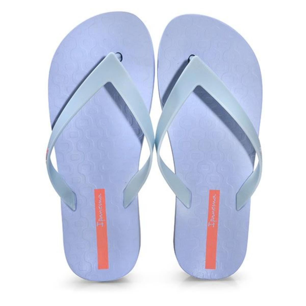 Chinelo Feminino Grendene 26602 20729 Ipanema Flatform Azul