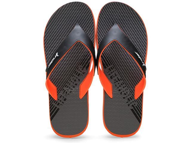 Chinelo Masculino Grendene 11023 Rider Shape Cinza/preto/laranja