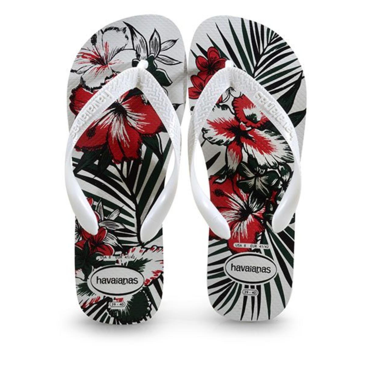 Chinelo Masculino Havaianas Aloha Branco/preto