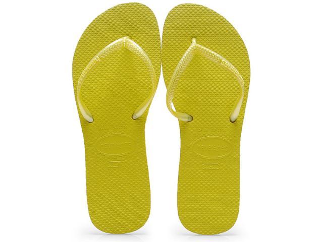 Chinelo Feminino Havaianas Flat cf Amarelo Neon