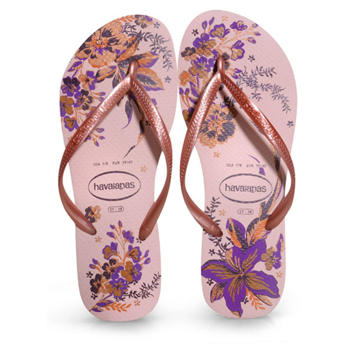 Chinelo Feminino Havaianas Slim Organic Rosa Ballet/rosa Rose