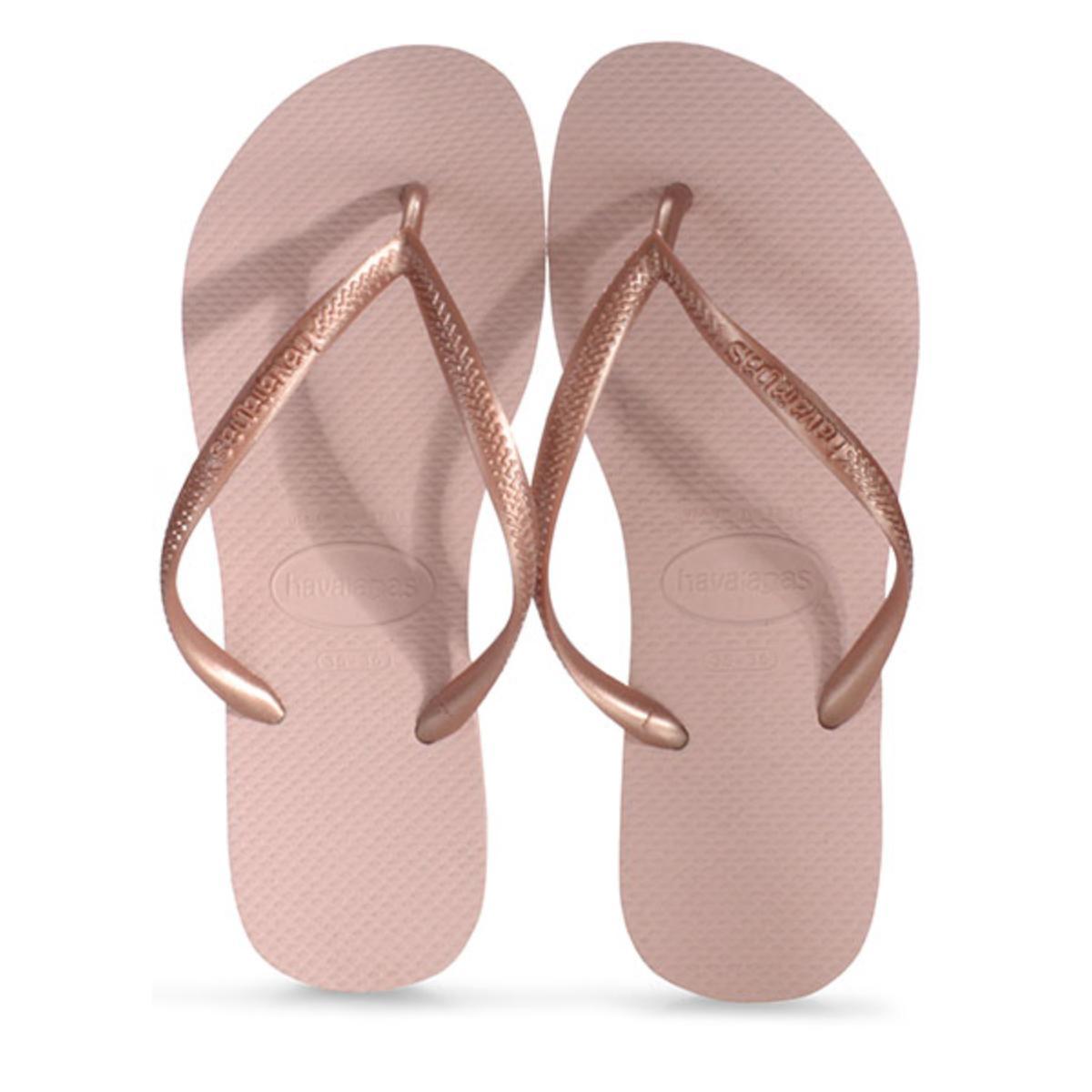 Chinelo Feminino Havaianas Slim Rosa Ballet