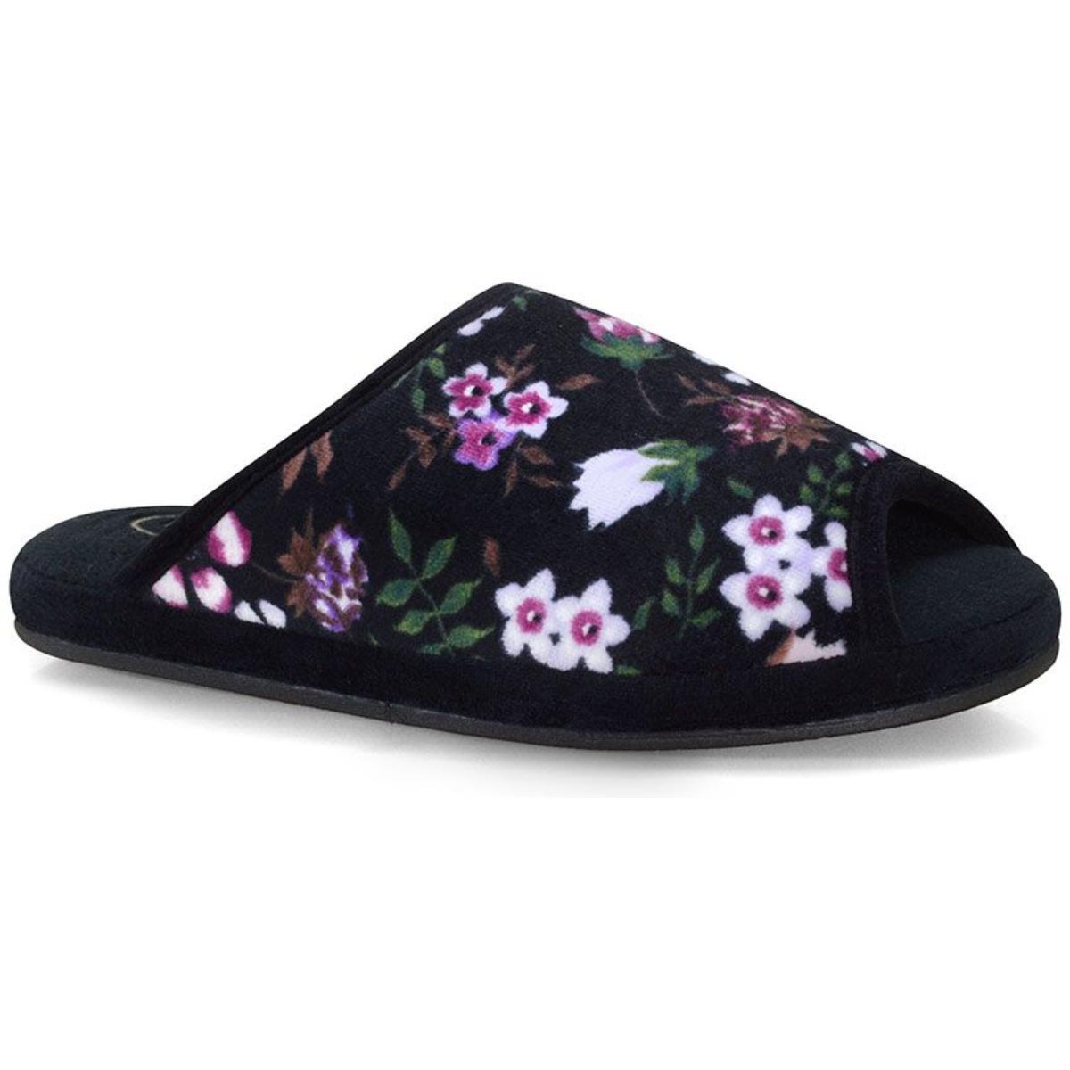Chinelo Feminino Leffa 456 Floral Orquidea