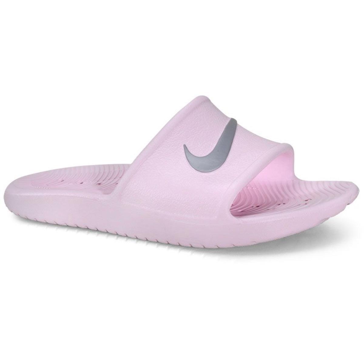Chinelo Feminino Nike 832655-601 Kawa Shower Rosa