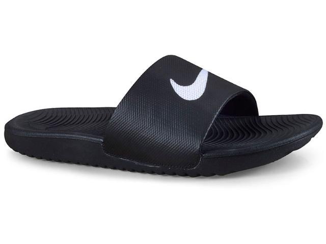 Chinelo Masculino Nike 832646-010 Kawa Slide Preto