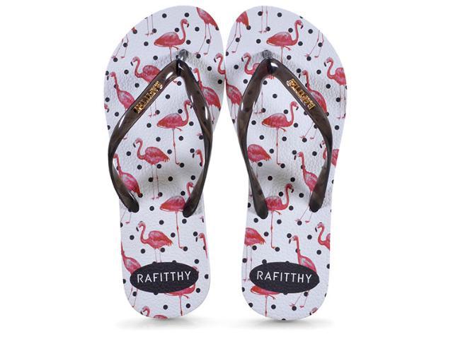 Chinelo Feminino 222.91701 Rafitthy Flamingos Poa