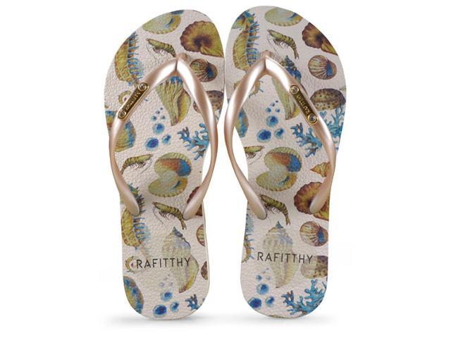 Chinelo Feminino Rafitthy 222.91702  Sea Love Dourado