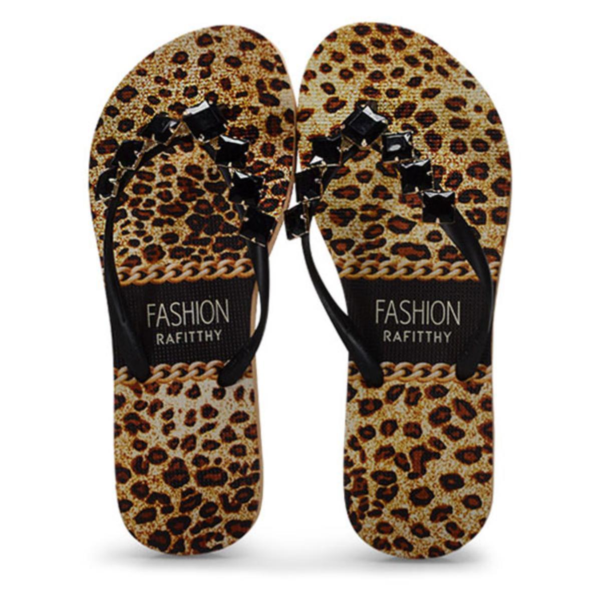 Chinelo Feminino Rafitthy 226.01704 Fashion Onca