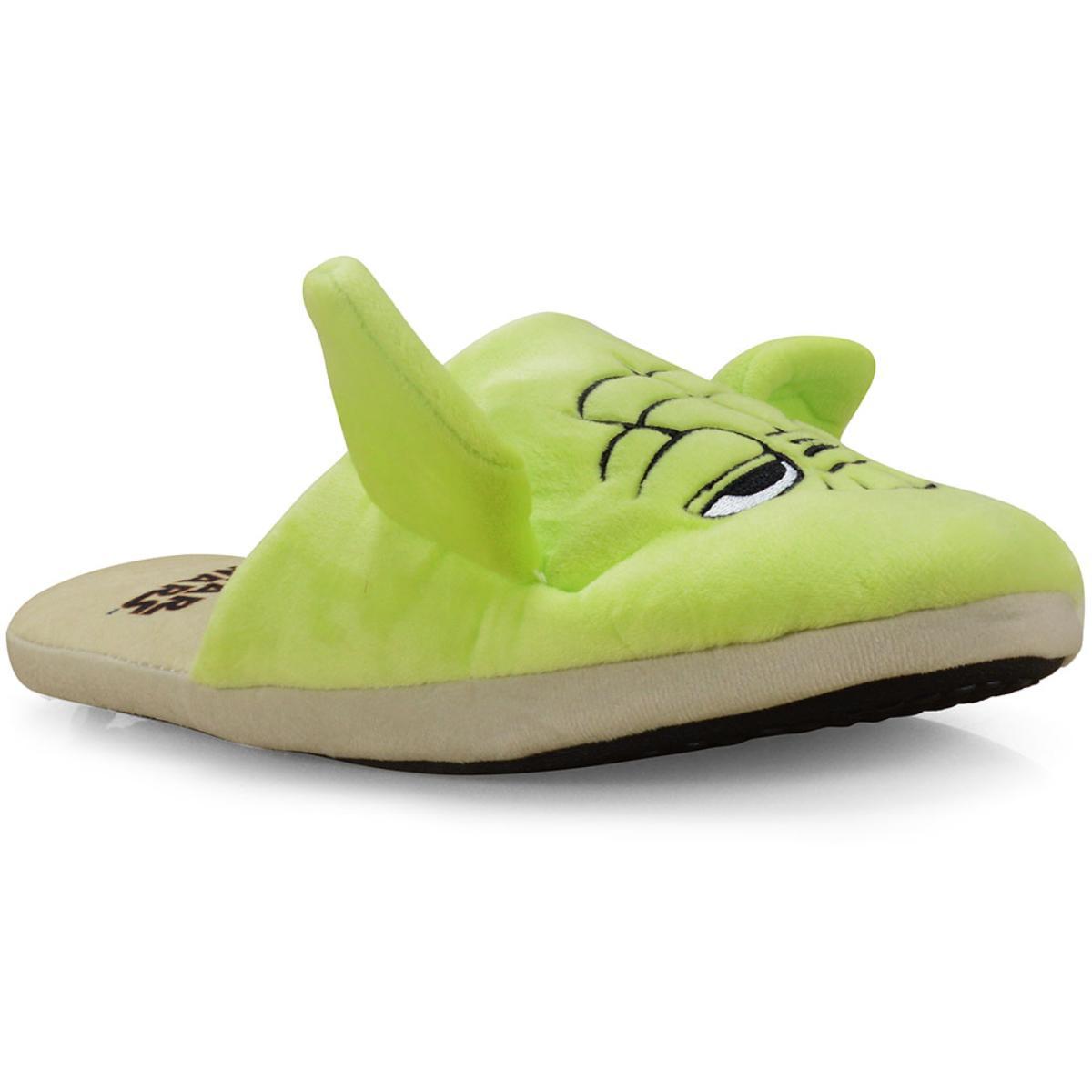 Chinelo Masc Infantil Ricsen 139034 3d Yoda Verde