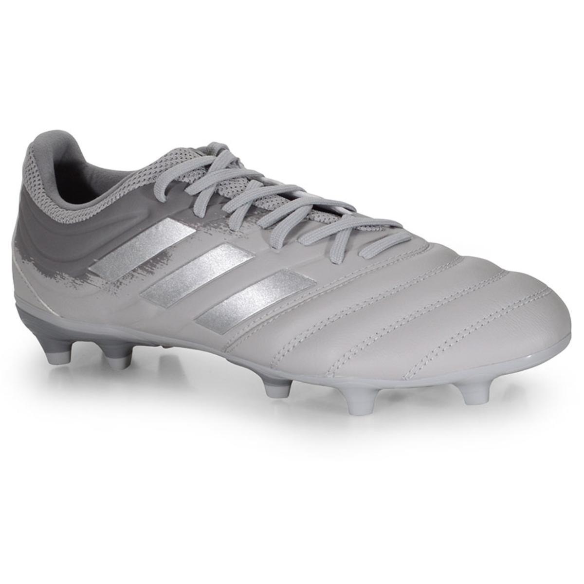 Chuteira Masculina Adidas Ef8329 Copa 20.3 fg Cinza/prata