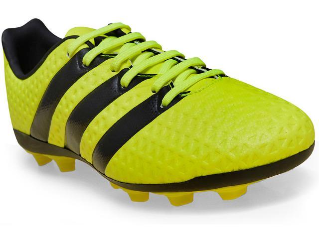 Chuteira Masc Infantil Adidas S42144 Ace 16.4 Fxg j  Limão