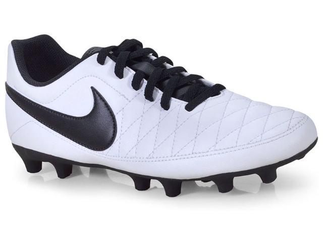 Chuteira Masculina Nike Aq7902-107 Majestry fg Branco/preto