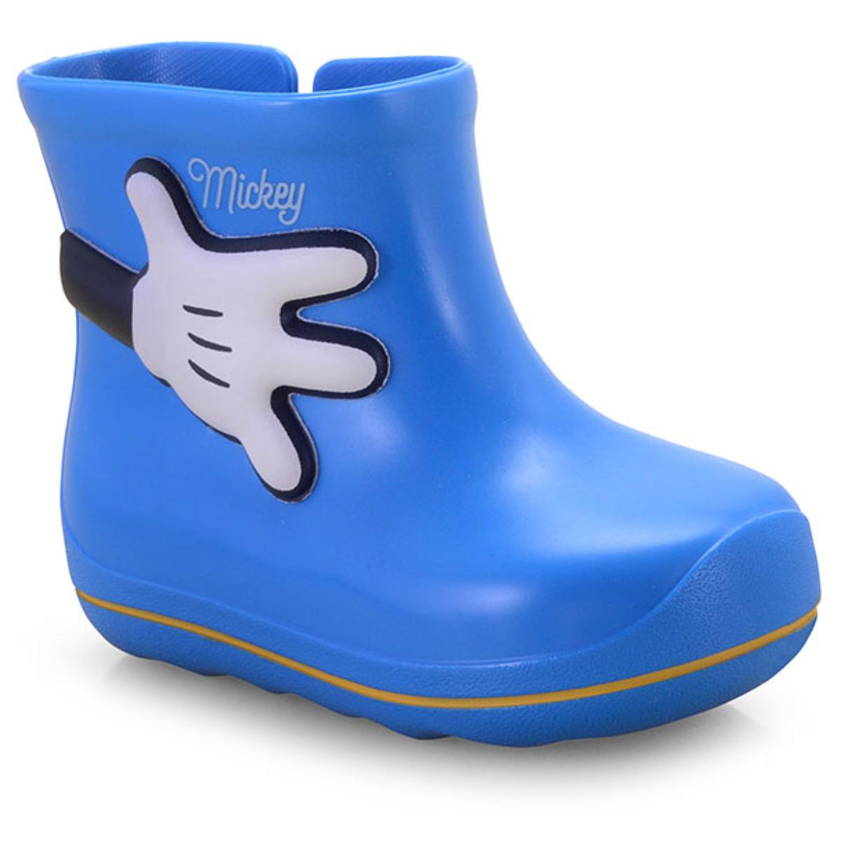 Galocha Masc Infantil Grendene 21987 01676 Disney Cute Azul Brilliant ff op