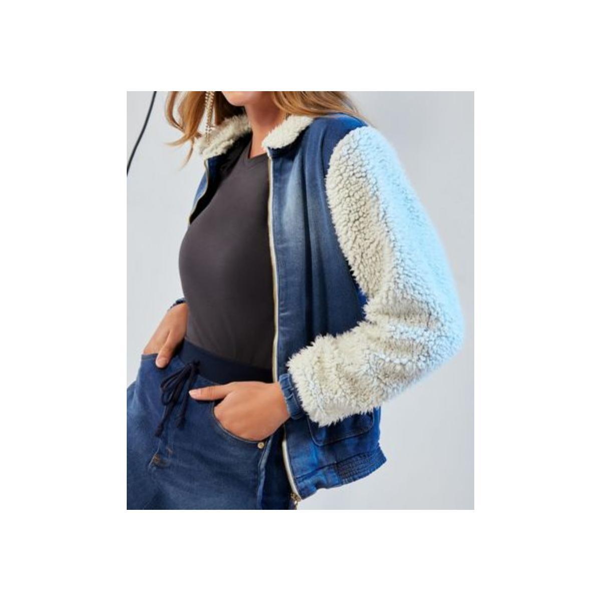 Jaqueta Feminina Carmenta 081293 Jeans
