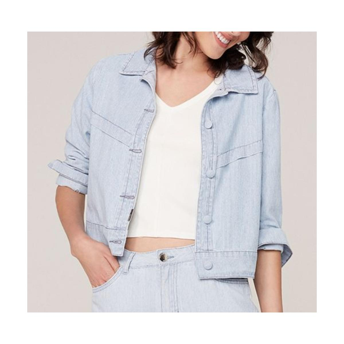 Jaqueta Feminina Dzarm Z8k3 1asn  Jeans