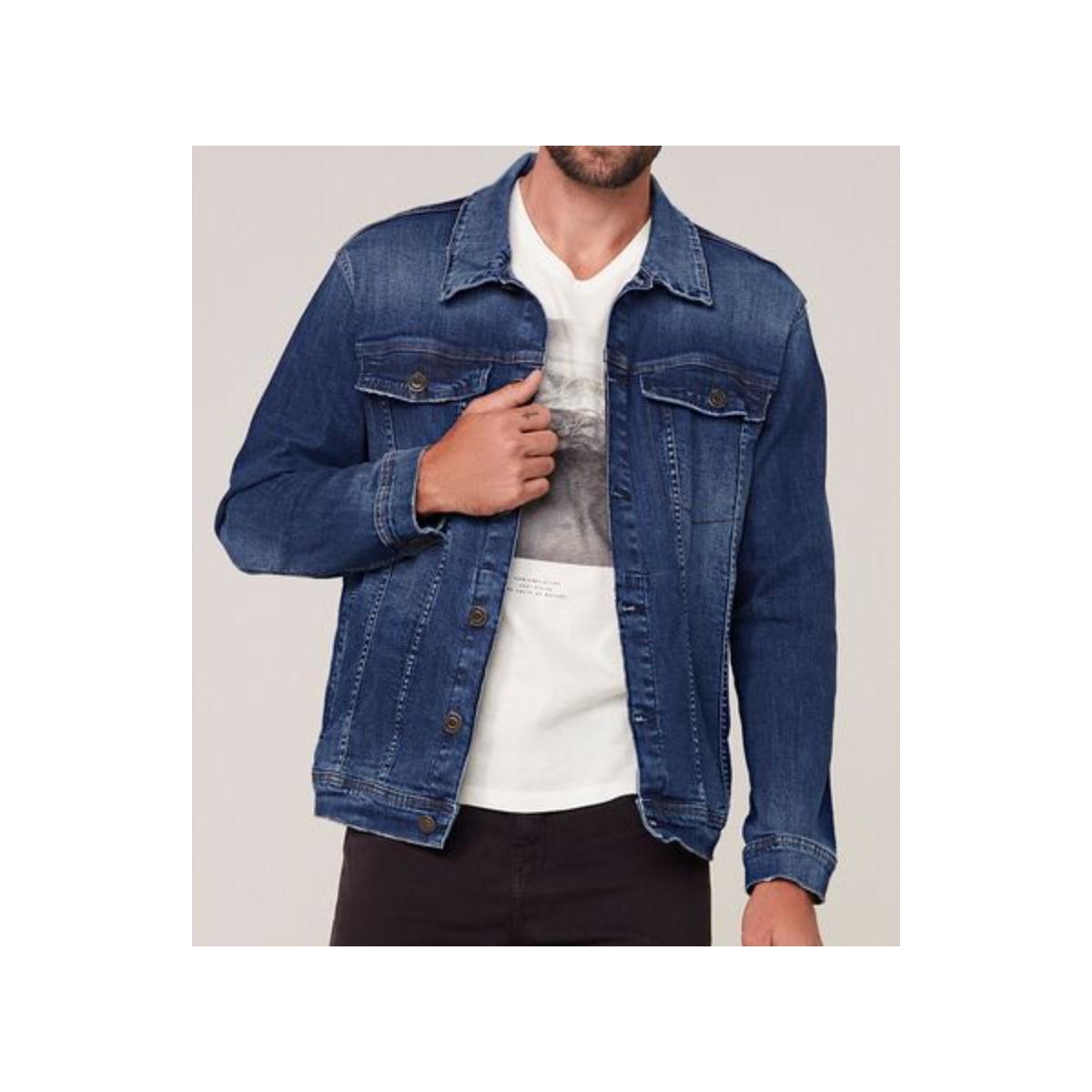 Jaqueta Masculina Dzarm Z8lc 1bsn Jeans