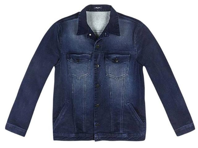 Jaqueta Masculina Hering H31r Jelxt Jeans Escuro
